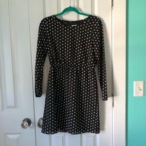 J Crew Factory polka dot dress
